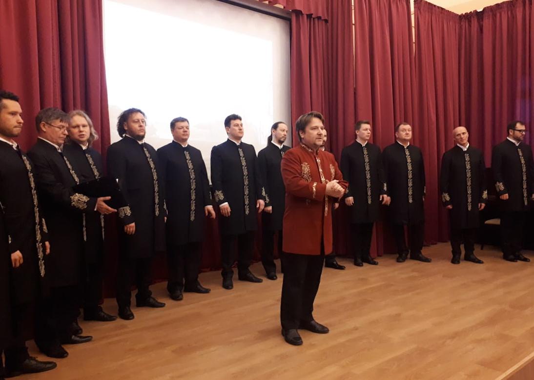 В Рязани с благотворительным концертом выступил хор Валаамского монастыря (видео)