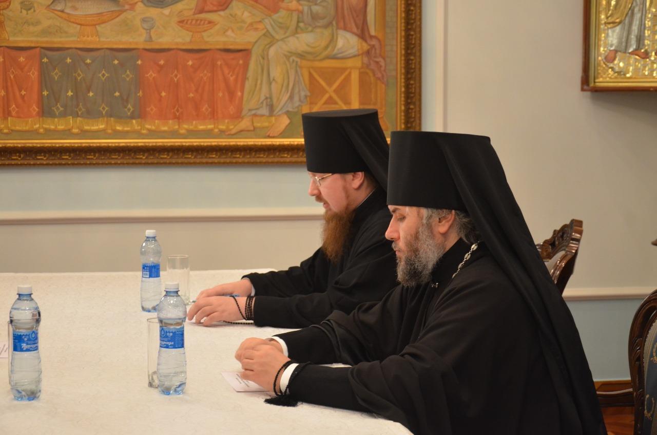 Предстоятели епархий Рязанской митрополии собрались на последнем в текущем году Архиерейском совете