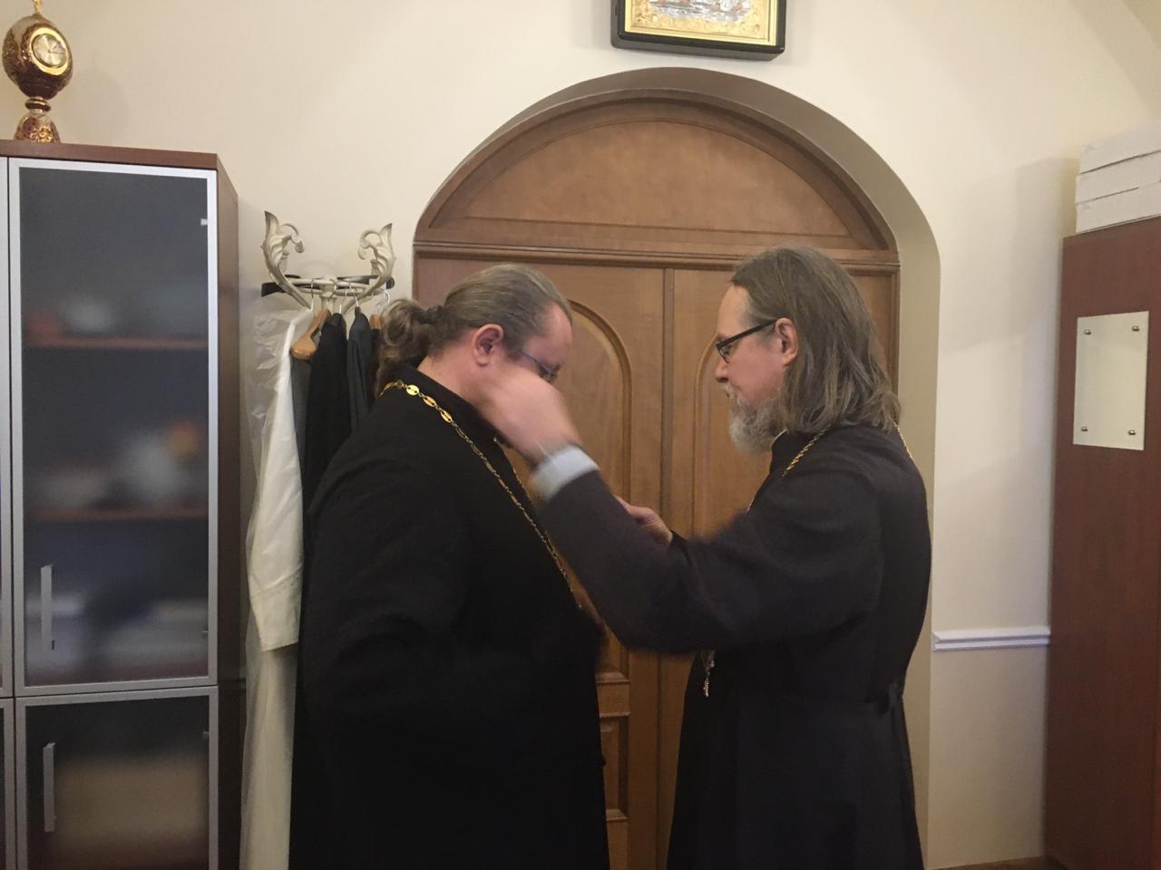 Председатель социального отдела удостоен медали святителя Василия Рязанского