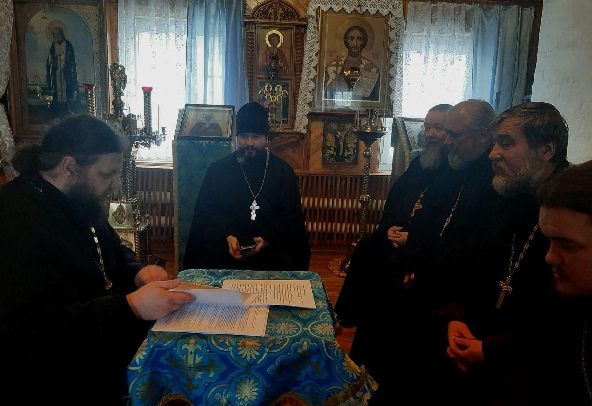В благочиниях Рязанской епархии проходят собрания духовенства