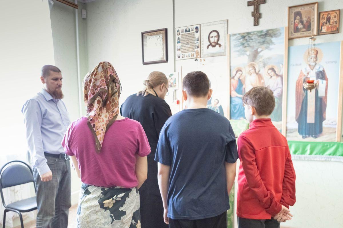 Представители Благотворительного общества  Вознесенского храма посетили Центр временного содержания для несовершеннолетних правонарушителей