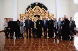 Митрополит Марк встретился с руководителями учебных заведений Московского района