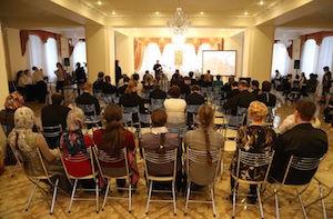 Историческая олимпиада вновь собрала учащихся духовных школ в Иоанно-Кронштадтском храме Рязани
