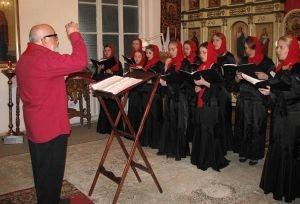 Хор Параскевы Пятницы выступил перед курсантами десантного училища