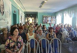 На педсовете в школе № 19(25) были представлены просветительские проекты Восточного благочиния Рязани