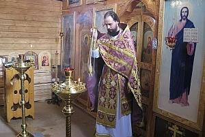 В исправительной колонии №6 совершена литургия и молебен «О всех православных христианах во узах темничных пребывающих»