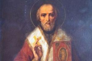 Икона святителя Николая Чудотворца, написанная святителем Феофаном