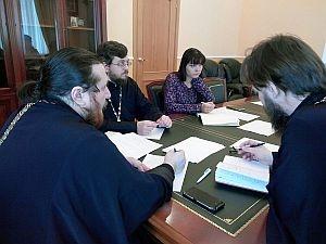 На совещании медиа-холдинга обсудили перспективы развития епархиальных проектов