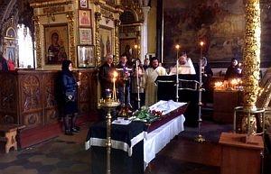 Отошла ко Господу алтарница Борисо-Глебского собора монахиня Варвара (Трушкина)