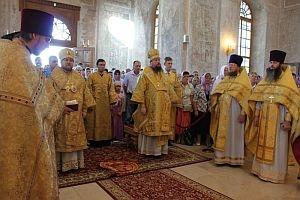 «Премудрый учитель и христианского жития наставник»: на Выше состоялись торжества в день памяти святителя Феофана
